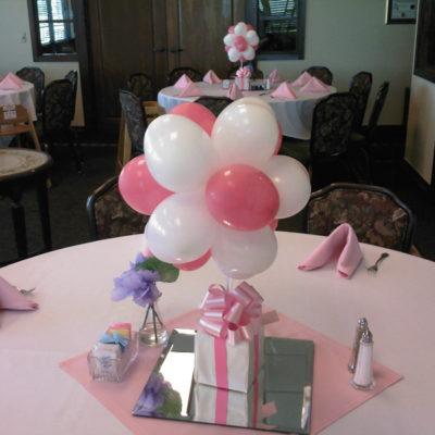 Balloon Center Pieces